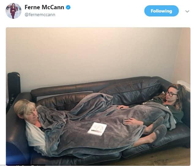 Ferne McCann Celebrity Twitter