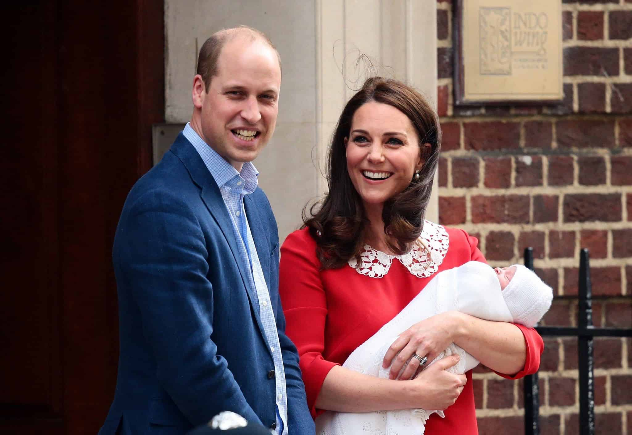 Kate Middleton And Prince William Show Royal Baby No. 3