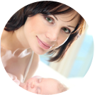 Comfort Levels of Hypnobirthing Hub mothers with mother and baby